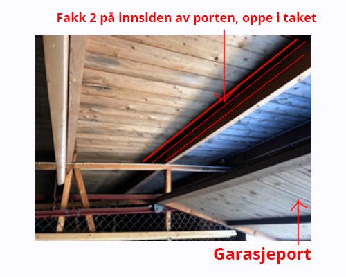 Elbil infrastruktur i garasjene