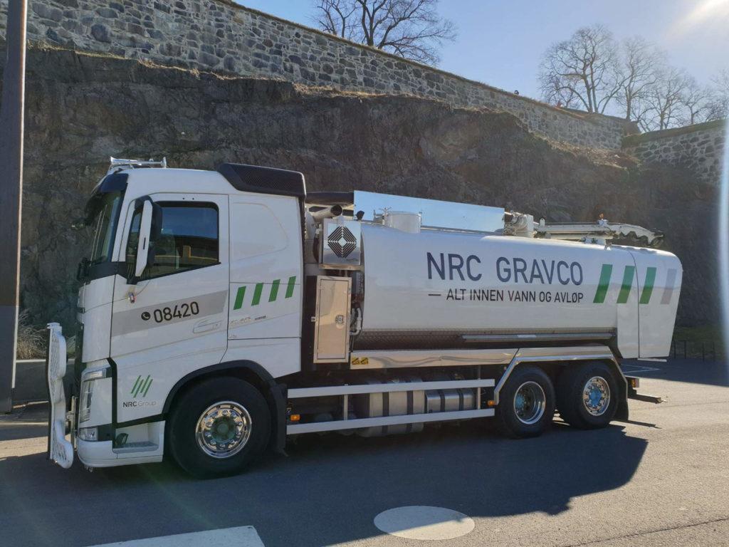 NRC Avløpsspyling hos Mellomenga